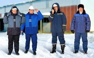 Что нужно учитывать при выборе зимней спецодежды